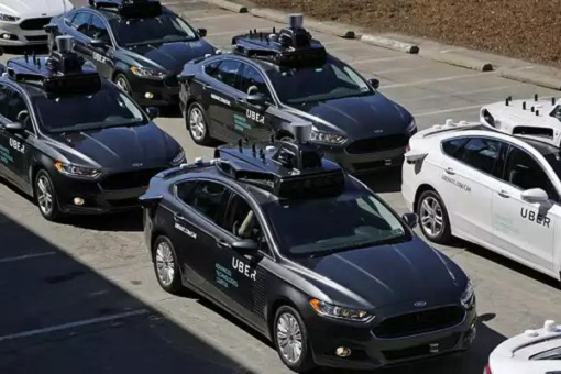 Uber Fleet of Driverless Taxi - Robo Taxi
