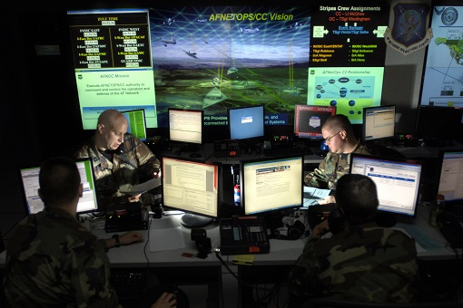 United State Cyber Command Centre