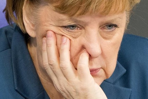 Angela Merkel - Sober Looking