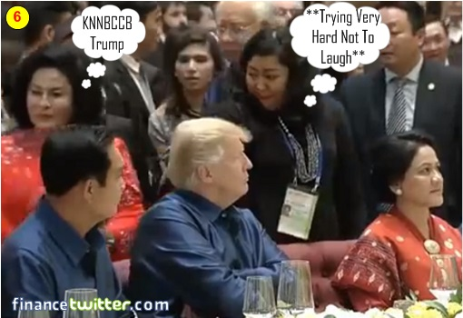 Asean Summit Manila 2017 - President Trump Pretends Not Seeing Najib and Rosmah - 6