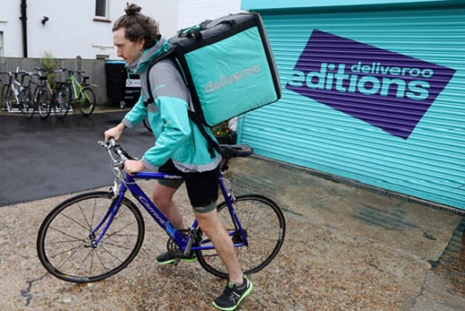 Deliveroo Editions Dark Kitchens - Cyclist