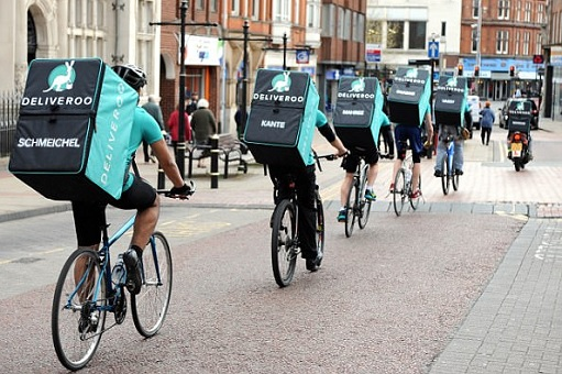 Deliveroo Editions Dark Kitchens - Delivery Cyclists and Scooter