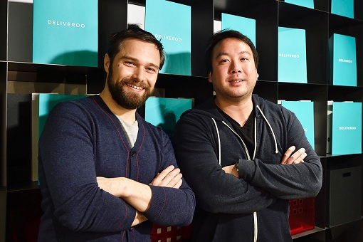 Deliveroo Founders Will Shu and Greg Orlowski