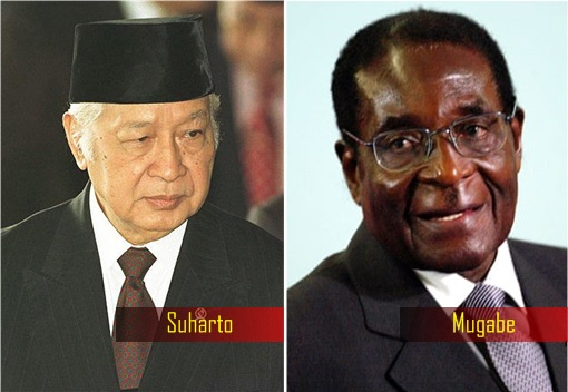 Dictator and Corrupt Leaders - Suharto and Roberty Mugabe