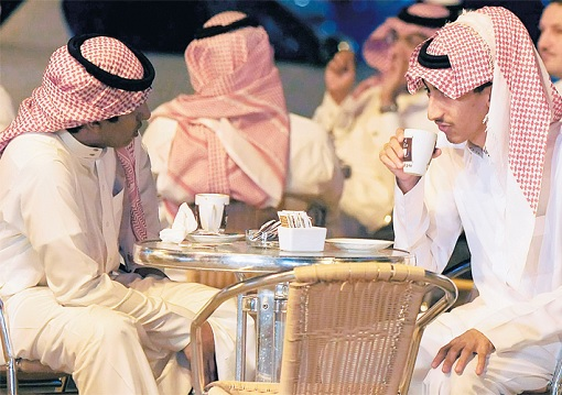 Saudi Arabia Youth Unemployment - Having Coffee and Relax
