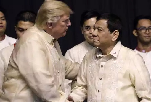 US President Donald Trump Meets Philippines President Duterte - Manila ASEAN Summit 2017