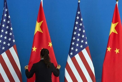 US vs China - Flags