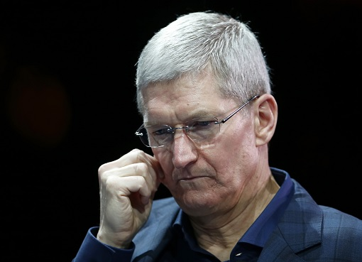 Apple CEO Tim Cook - Worry and Disappointed