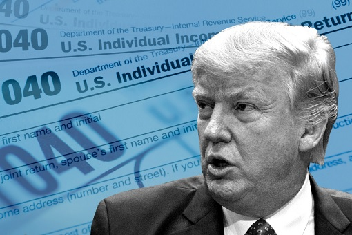 Donald Trump Tax Reform - 1040 Income Tax Return