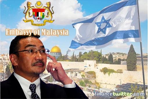 Embassy of Malaysia in Jerusalem Israel - Hishammuddin Hussein