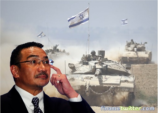 Malaysia Defence Minister Hishammuddin Hussein Declares War On Israel
