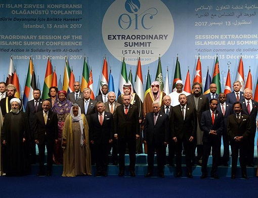OIC Extraordinary Meeting at Istanbul Turkey - Israel Jerusalem