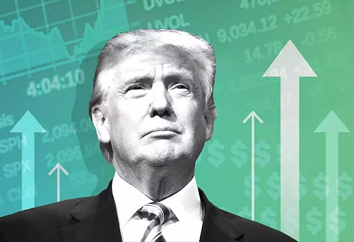 President Donald Trump - Historical High Stock Market