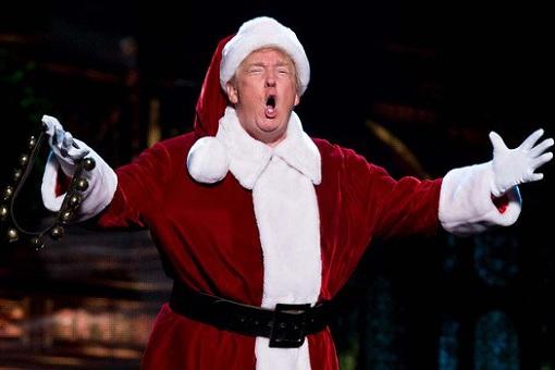 President Donald Trump The Santa Claus