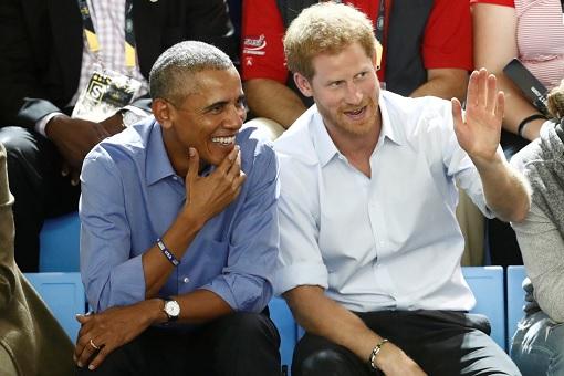 Prince Harry and Barack Obama - Friendship
