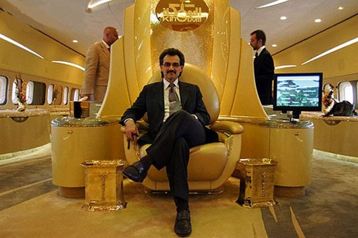Saudi Prince Al-Waleed - On Golden Kingdom Holding Company