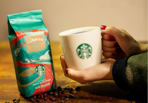 Starbucks opens in China its largest coffee in the world