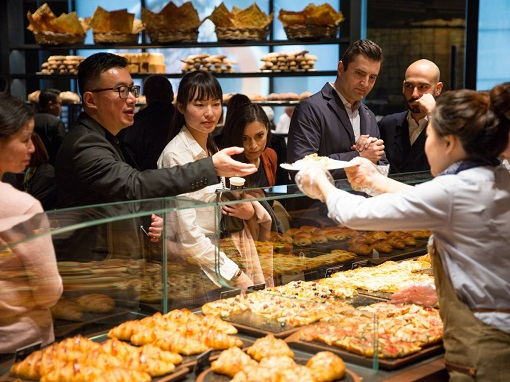 Starbucks Reserve Roastery Shanghai - In-house Made Food