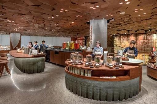 Starbucks Reserve Roastery Shanghai - Teavana Bar