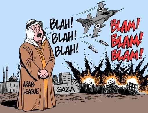 The Arab League - Cartoon