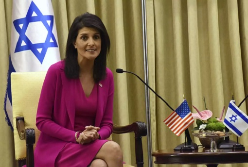 US Ambassador to UN Nikki Haley - Israel Supporter