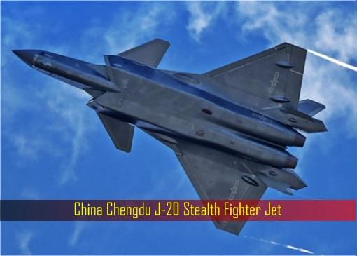 China Chengdu J-20 Stealth Fighter Jet