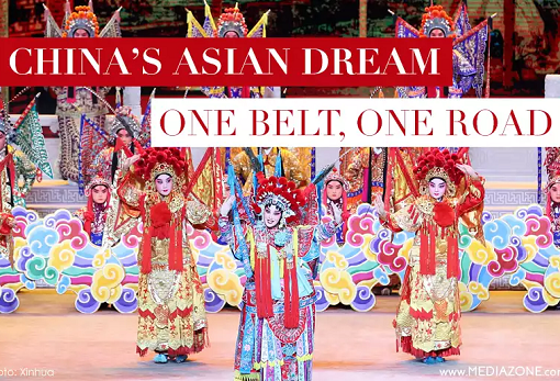 China OBOR - One Belt One Road - Asia Dream