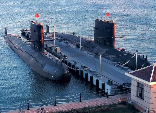 China Submarine Docking in Sri Lanka