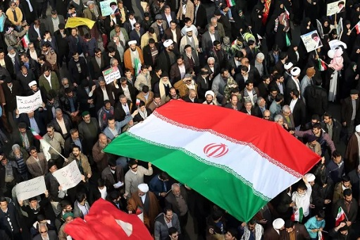 Iran Protest 2018 - Flag