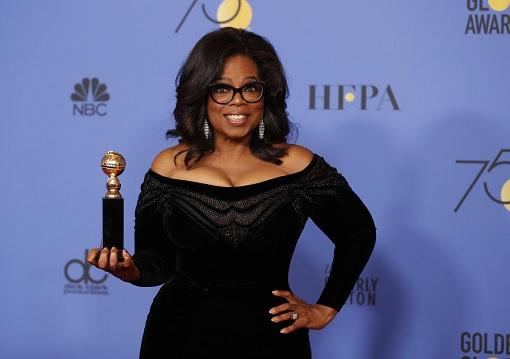 Oprah Winfrey - Golden Globes 2018 Award