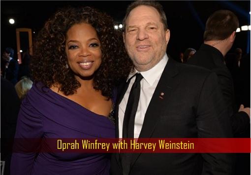 Oprah Winfrey with Harvey Weinstein