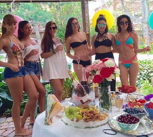 Rich Kids of Tehran - Girl in Bikini Having Party