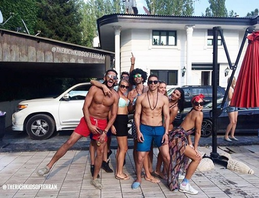 Rich Kids of Tehran - Kids On Summer Holiday