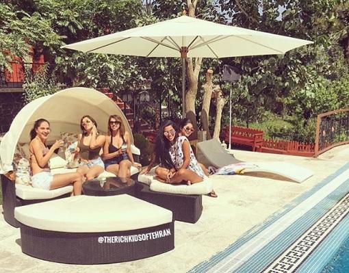 Rich Kids of Tehran - Luxury Vacations by Pool