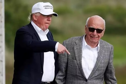 Rupert Murdoch Called Donald Trump A Fucking Idiot