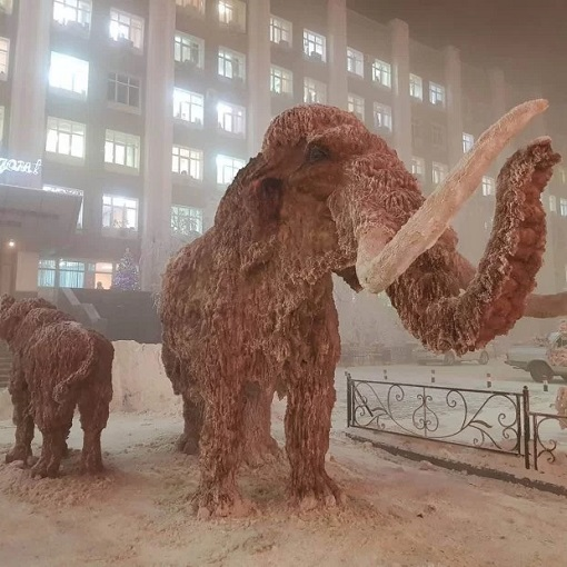 Russia Extreme Temperature - Woolly Mammoth