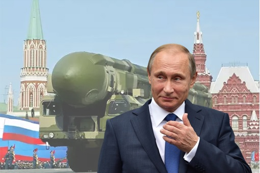 Russia Topol ICBM Nuclear Missile - Vladimir Putin