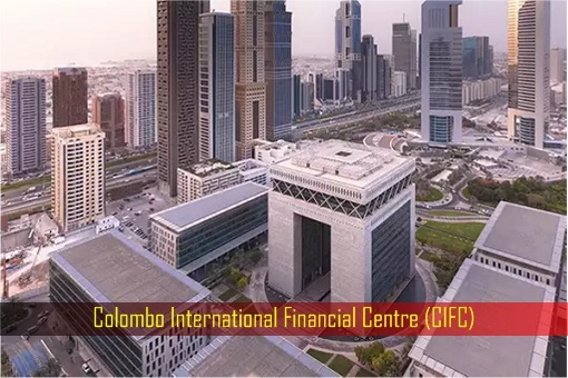Sri Lanka Colombo International Financial Centre - CIFC - Model
