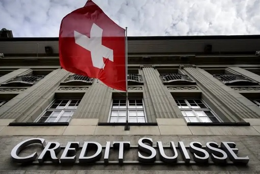 Credit Suisse - Building and Flag