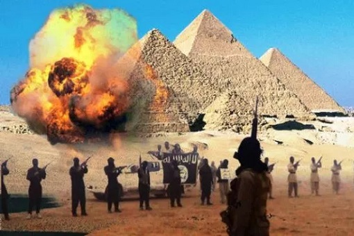 ISIS Attacks On Egypt - Pyramid