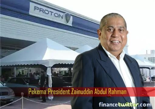 Pekema President Zainuddin Abdul Rahman