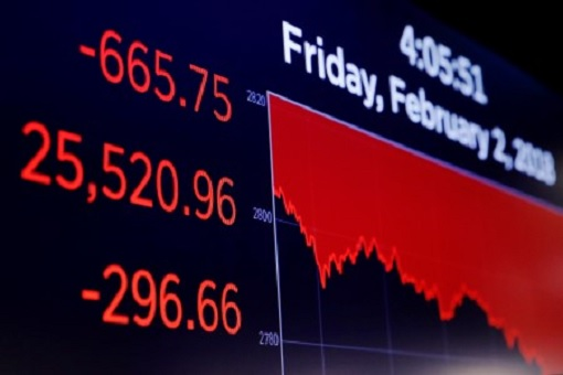 US Stock Market - Dow Jones - Crashed 666 Points - Scoreboard