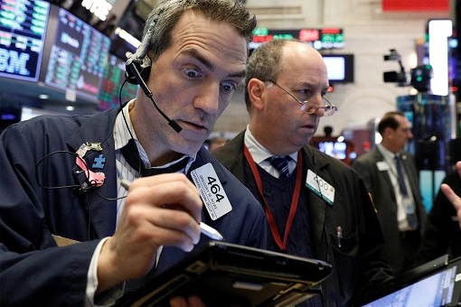 US Stock Market - Dow Jones - Crashed 666 Points