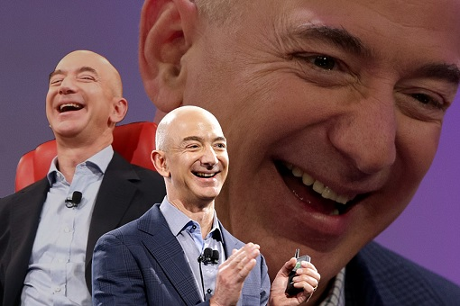 Amazon Jeff Bezos Laugh