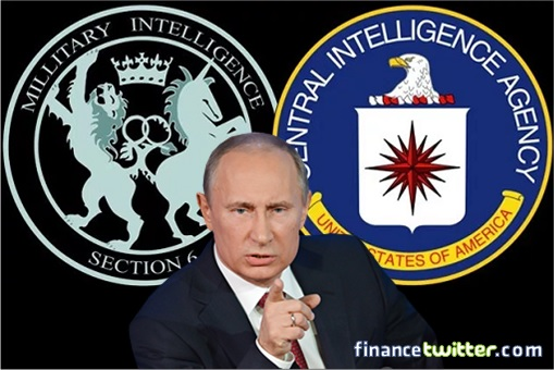 British MI6 and United States CIA - Vladimir Putin