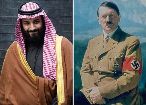 Crown Prince Mohammed bin Salman - Adolf Hitler