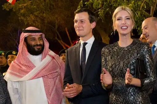 Crown Prince Mohammed bin Salman - Jared Kushner and Ivanka