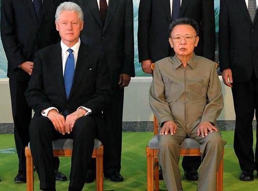 Former President Clinton Meets North Korea Kim Jong-il