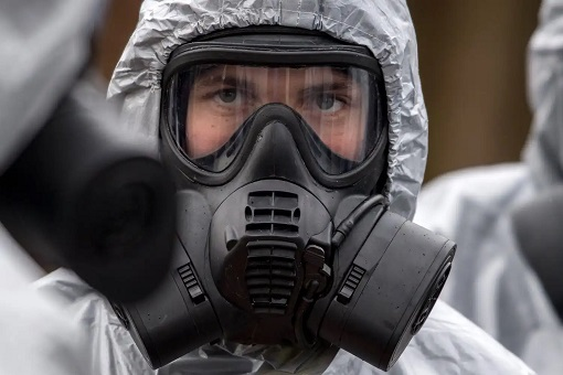 Hazmat Mask - Chemical Weapon - Nerve Agent