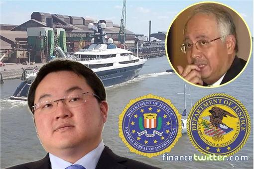 Jho Low Equanimity Yacht Confiscated - Jho Low and Najib Razak - FBI DOJ